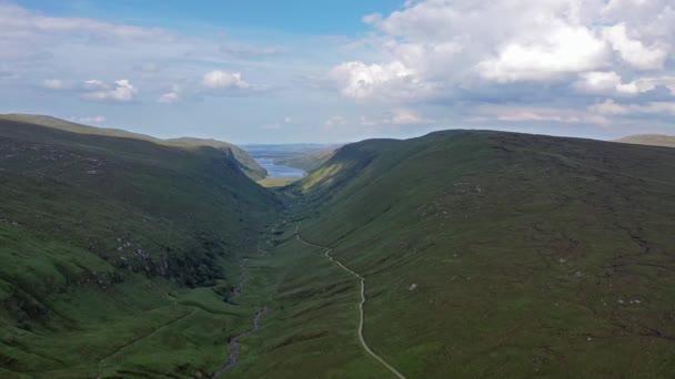 A Glenveagh National Park Légifotó-megye Donegal, Írország