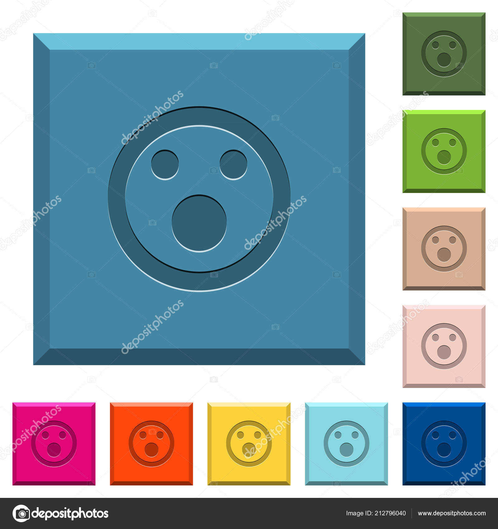 Electrical Symbols Download For Engraving Not Lossing Wiring Diagram Drawing Pdf Shocked Emoticon Engraved Icons Edged Square Buttons Various Trendy Rh Depositphotos Com Library
