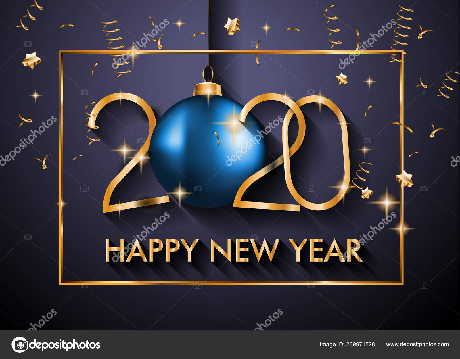 2020 Feliz Año Nuevo Fondo Para Tus Invitaciones Temáticas