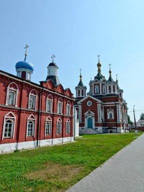 Kolomna, Russia - June 22, 2019: Assumption Brusensky Women's Monastery