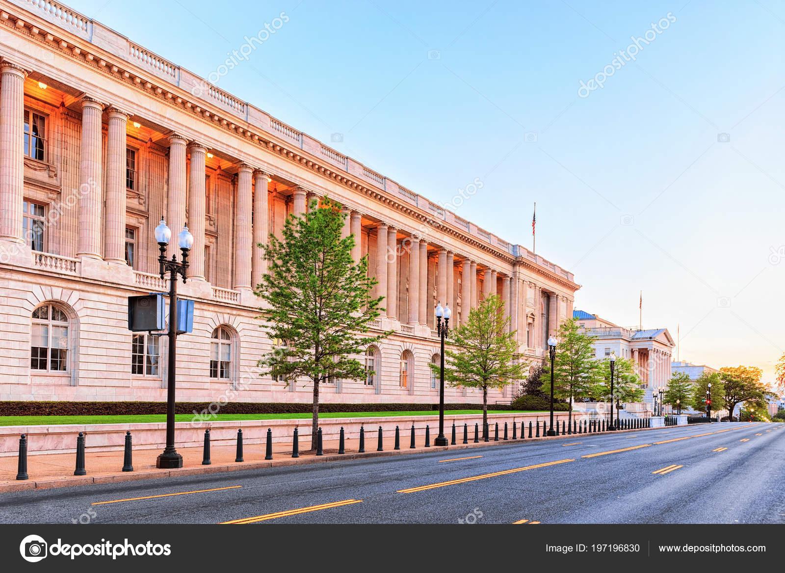 Cannon House Office Building Washington Usa Oldest