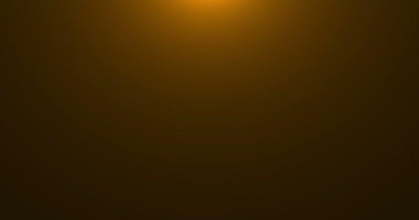 Gold warme Farbe helle Linse Flare Strahlen blinkt Leckbewegung für Übergänge auf schwarzem Hintergrund, Filmtitel und Überlagerungen