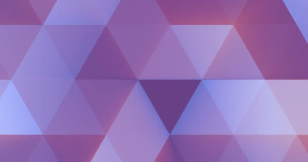abstract violet and pink geometric multicolor triangles pattern with seamless trasition color movement, texture