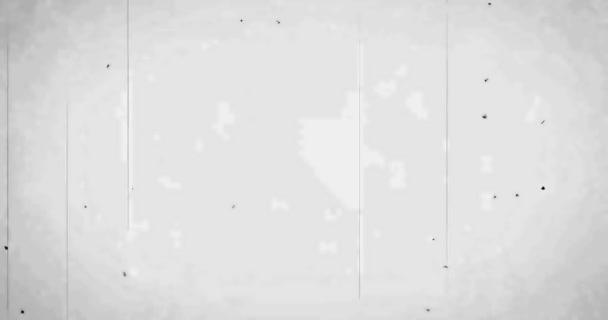 bílá vintage staré grunge film proužek pozadí rámečku, starý film škody efekt, efekt retro film závada s místem a
