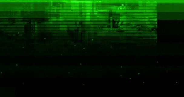 farbenfroher vhs-Glitch-Hintergrund realistisch flackernd, analog