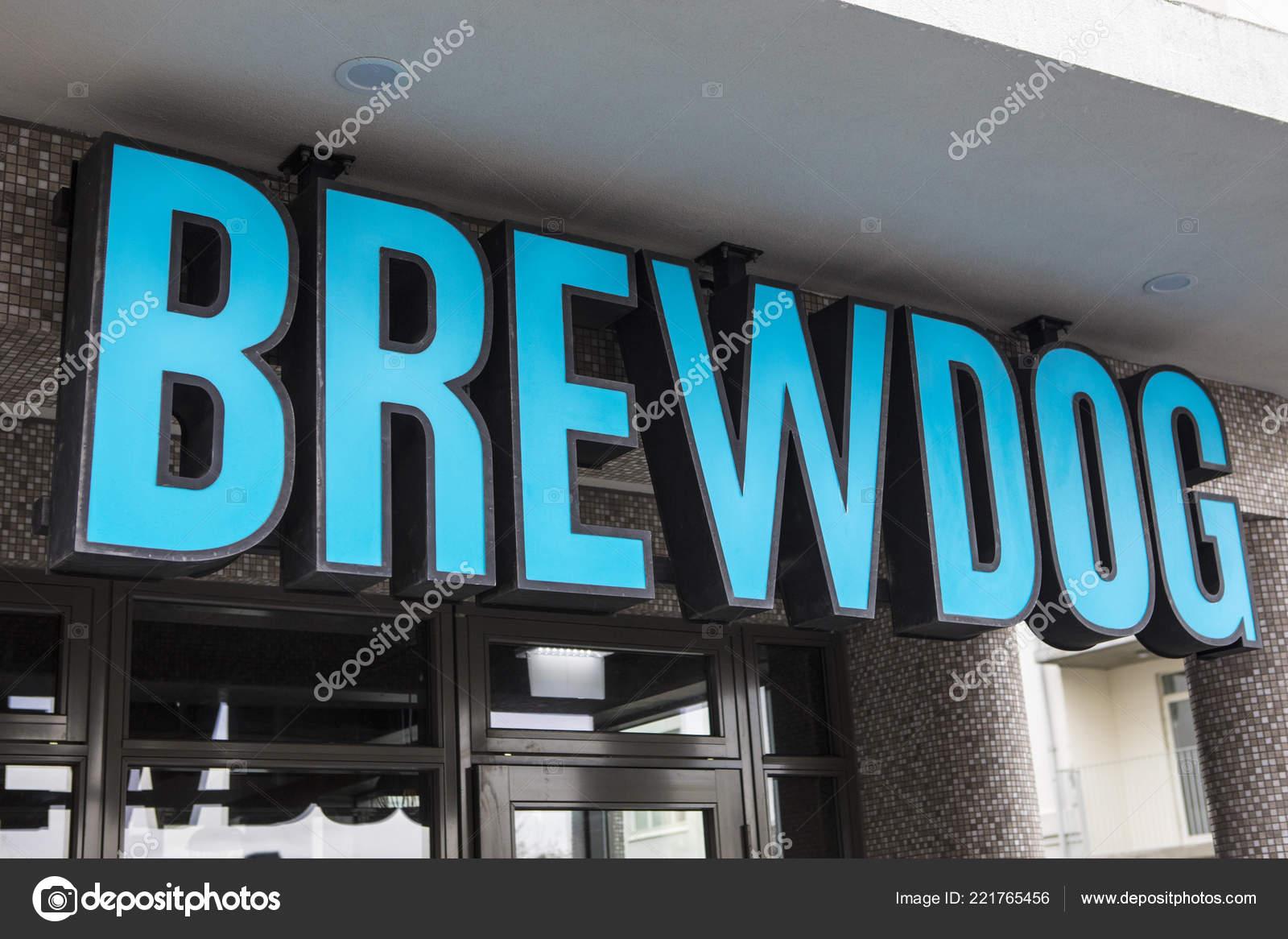 Reykjavik Iceland October 8th 2018 Brewdog Company Logo Bar City Stock Editorial Photo C Chrisdorney 221765456