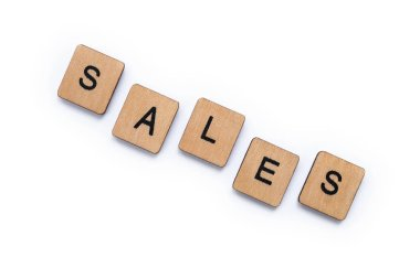 The word SALES