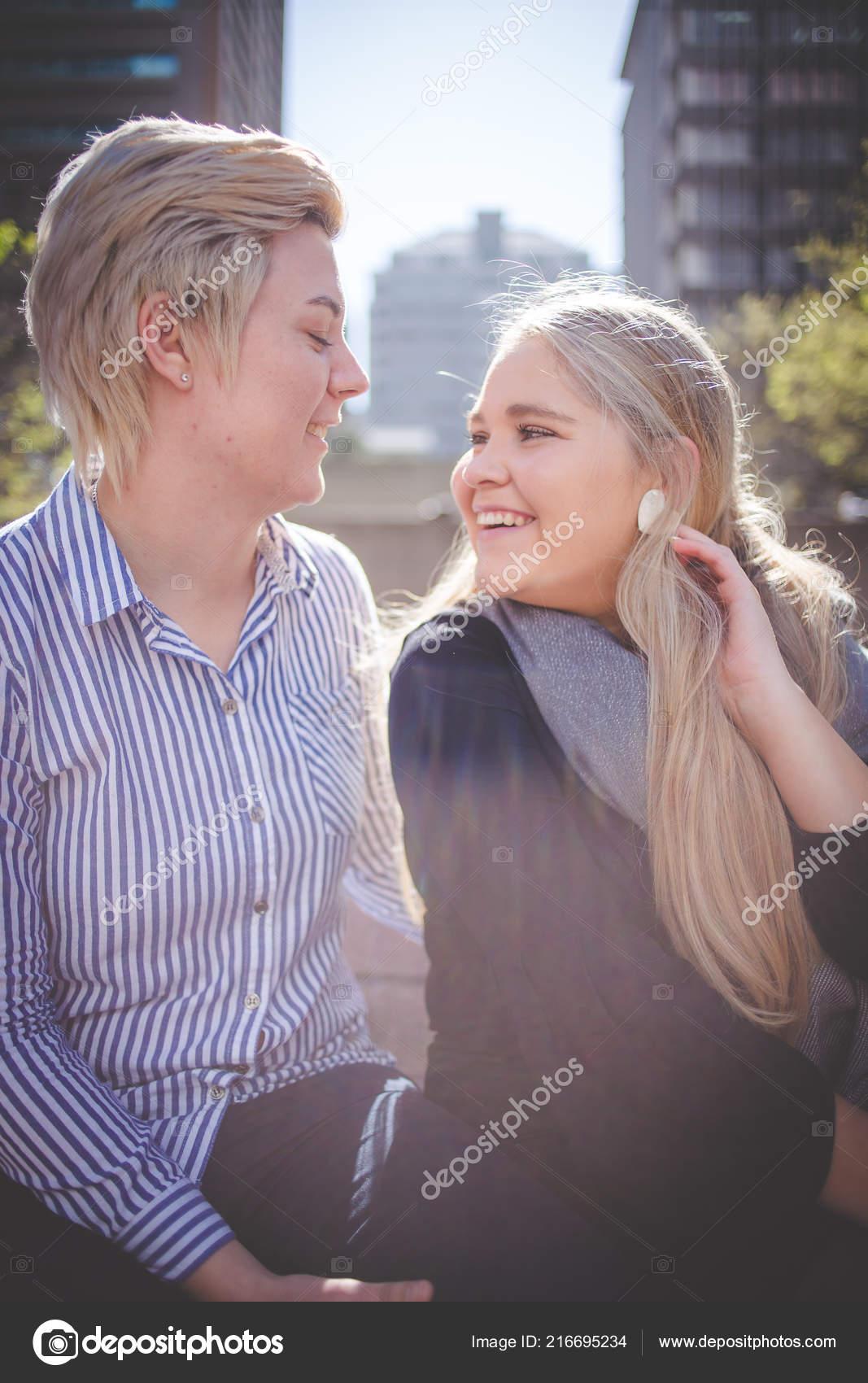 Lesbisk älskare kön