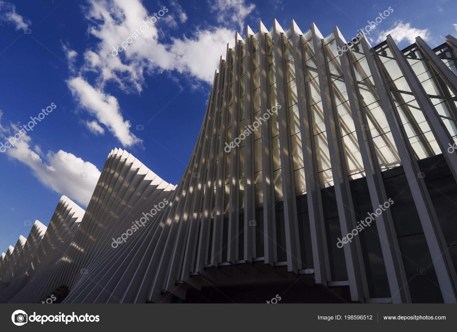 Reggio Emilia Itálie Cca Březen 2018 Santiago Calatrava železniční