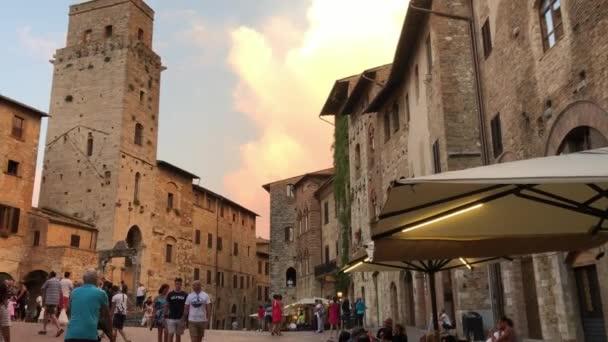 San Gimignano - Toskánsko Itálie