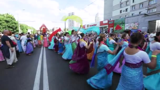 Ratha Yatra in city of Dnepr