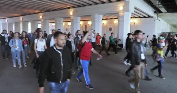 Fans before the football match