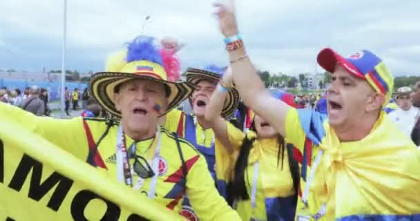 Football fans of Colombia