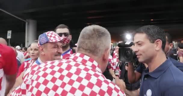 Football fans of Croatia