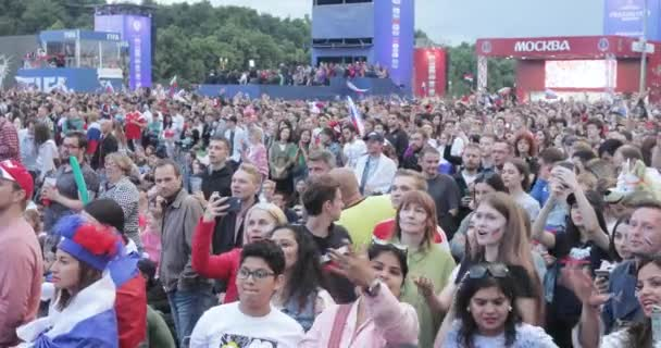 Festival of fans of FIFA on the Sparrow Hills
