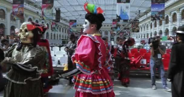 Mexická masopustní slavnosti mrtvých