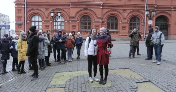 Zero kilometer in Moscow