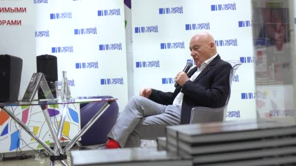 Vladimir Pozner at the presentation of the book