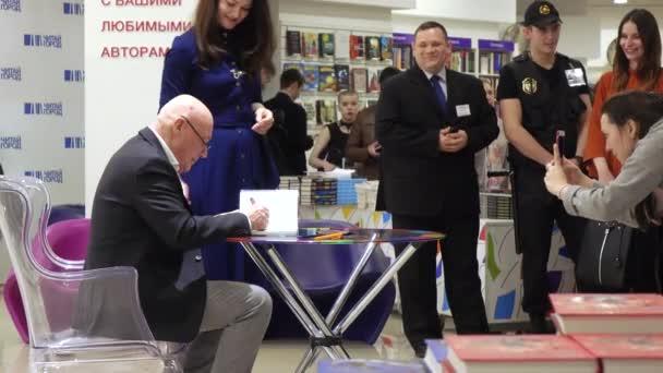 Vladimir Pozner at the presentation of the book