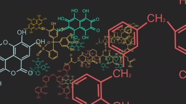 chemische Formel bestehend aus Benzol-Ringen. 4k