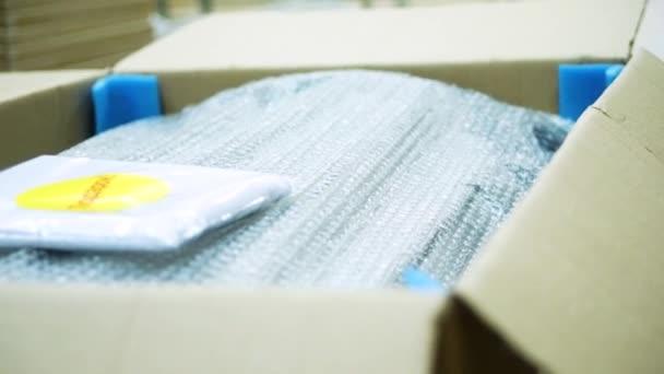 Möbel Karton Verpackt Lager Möbelproduktion Verpackung Von