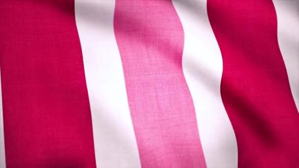 Textura pozadí měkký vlnitý pruhy látky textilního materiálu, bezešvé smyčka. Pozadí, barevné látky