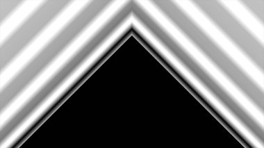 Dynamic black and white transition vertical animation with V shapes covering the screen and then inverting to reveal a perfect loop. Great for keying, masking and overlays. Motion backgrounds ideal