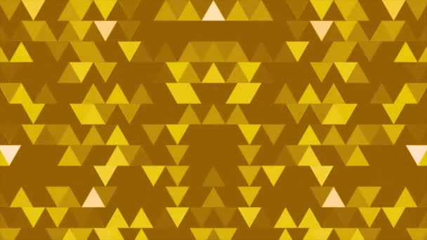 A set of triangles and shapes is moving and changing colors. Three-dimensional random reflective kaleidoscope block shapes toned in a subtle green hue. Summer colors, ideal to create nice