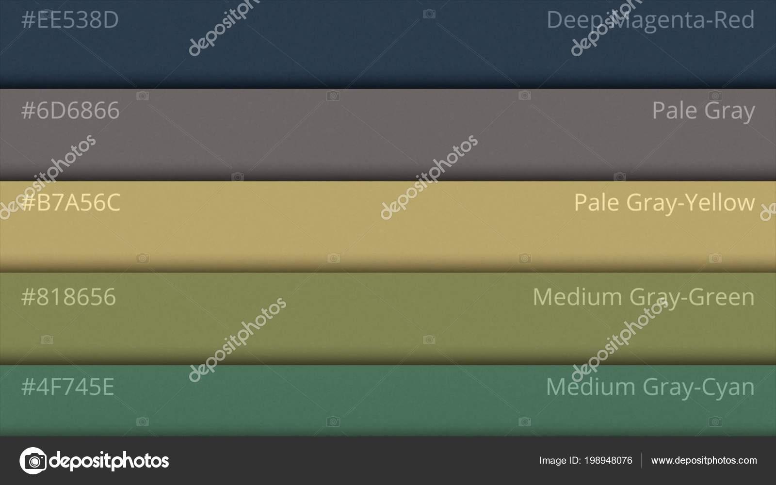 Color Palette Guide. Web colors. Sample Colors Catalog. selection of on sample database, sample doc, sample software,