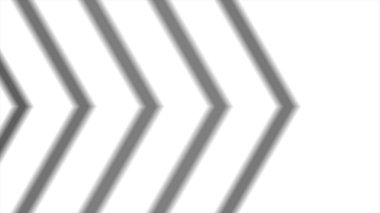 Formation of arrow from up to down, high definition CGI motion backgrounds ideal for editing. Abstract CGI motion graphics and animated background with moving black and white angle
