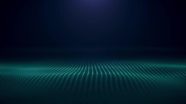 Abstraktní pozadí s barevné vlnovky. Elegantní barevné hedvábné křivky pohybu pozadí hedvábně hladké křivky barevné textury. Animace se vlní na povrchu neonové linky. Abstraktní barevné