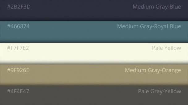 Barevná paleta, kosmické barvy. Barevná paleta s různými vzorky. Barva výběru katalog