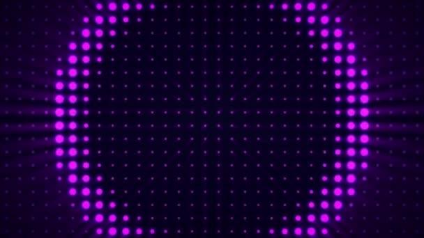 Reflektor a zeď tanec. MXC v koncertní síň scény světlo bliká zeď stroboskopy světla záběry pro různé události