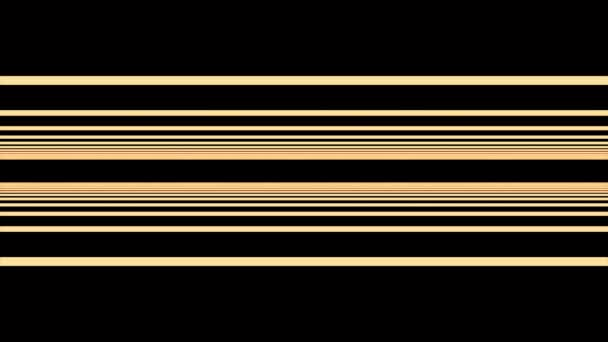 Infinite fly through straight stripes on black background. Lines background. Flying Through a Universe of Colorful Blinking and Twinkling streaks.