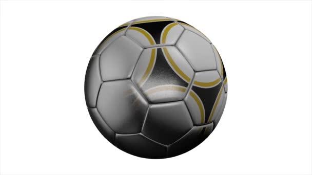Fotbalový míč. Fotbalový míč. Opotřebované fotbalový míč.