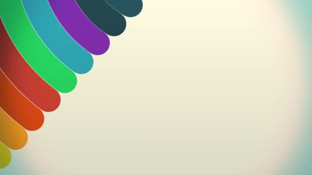 Barevné duhové barvy křivek točí se spektrem zářivých barev, otáčení v Cgi pozadí barevné kruhy s vysokým rozlišením. Barevné pozadí s záře částice a světelných paprsků