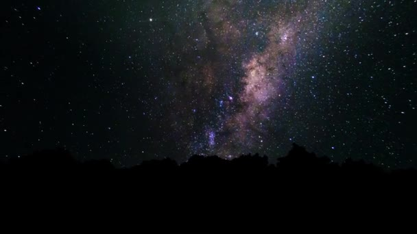 Milky Way, trail star galaxy and stars moving across night sky  Abstract  night sky background with stars and milky way