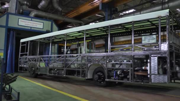 Production manufacture buses
