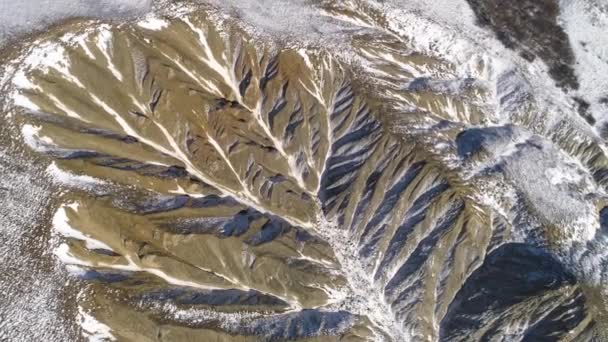 Nádherný výhled na pohoří Andy. Letecký pohled - andes hor, oblohu a bílé mraky