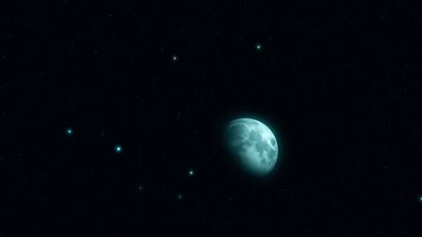 Deep space představivost, planety, hvězdy a galaxie v nekonečném vesmíru prvky