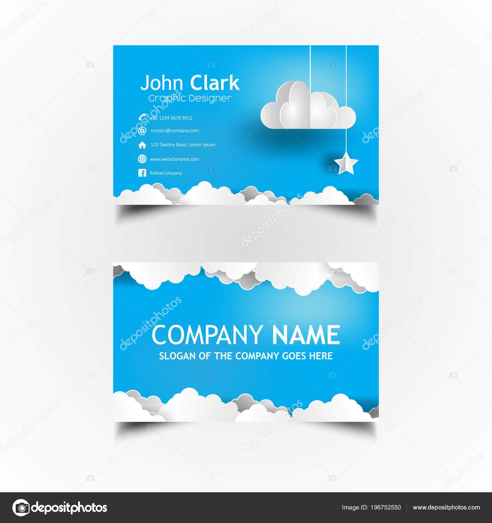 vector tarjetas de presentacion tarjeta negocio plantilla diseño