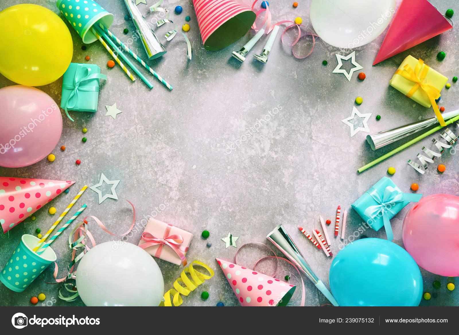 Décoration Fête Anniversaire Avec Des Ballons Coffrets Cadeaux