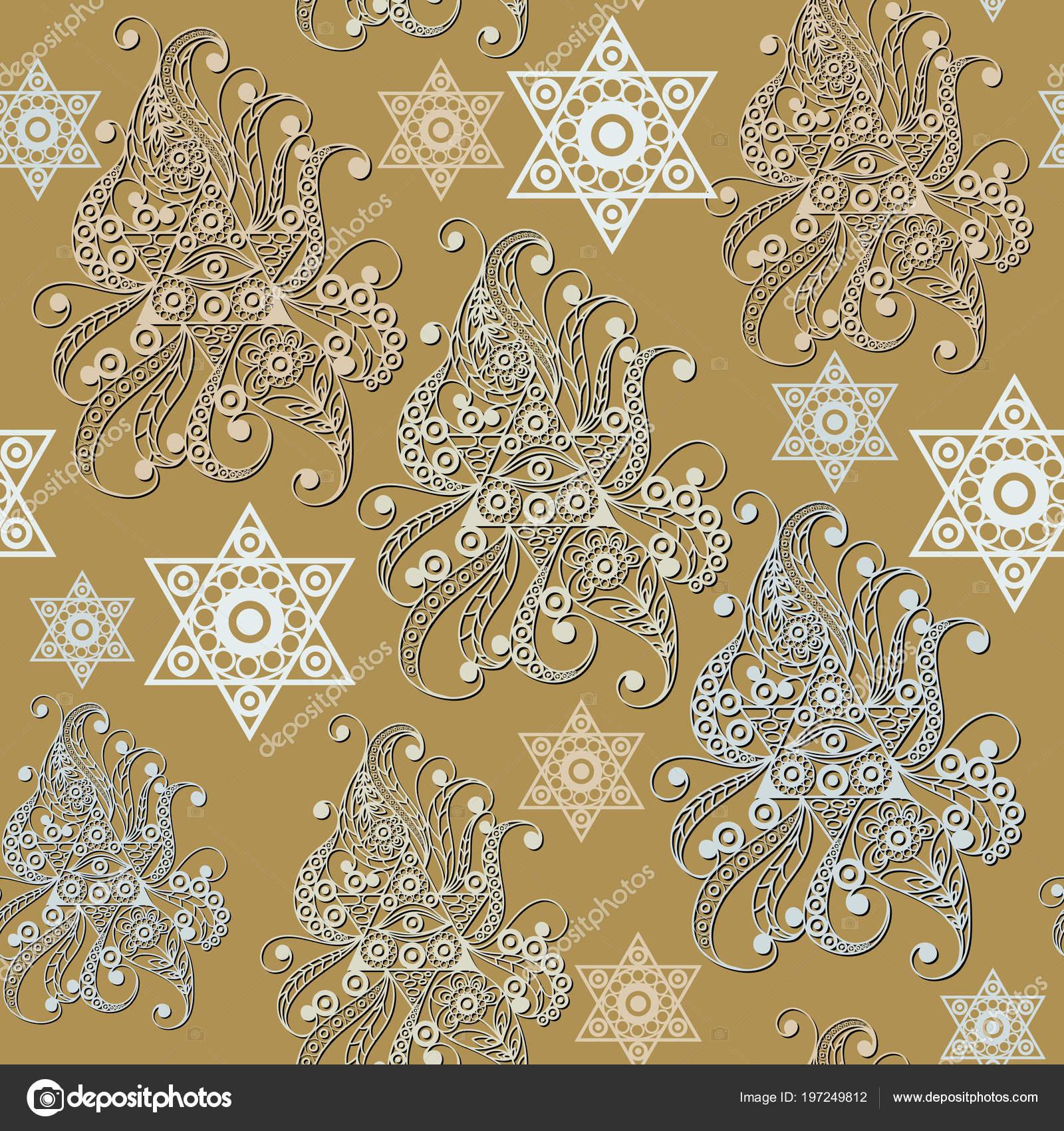 Seamless Background Occult Symbol Masonic Freemasonic Texture