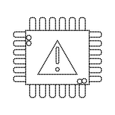 Attention sign symbol. Vector illustration