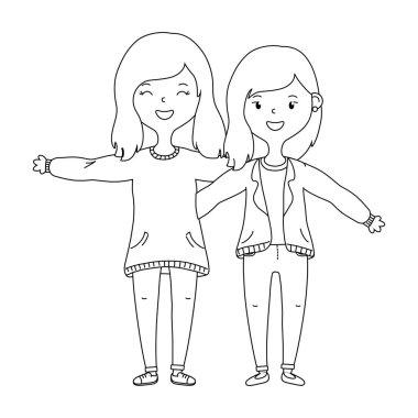 Teenage friends design