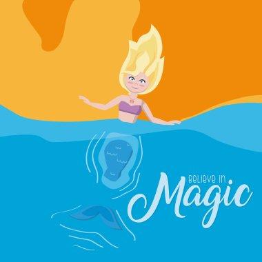 Believe in magic cartoons