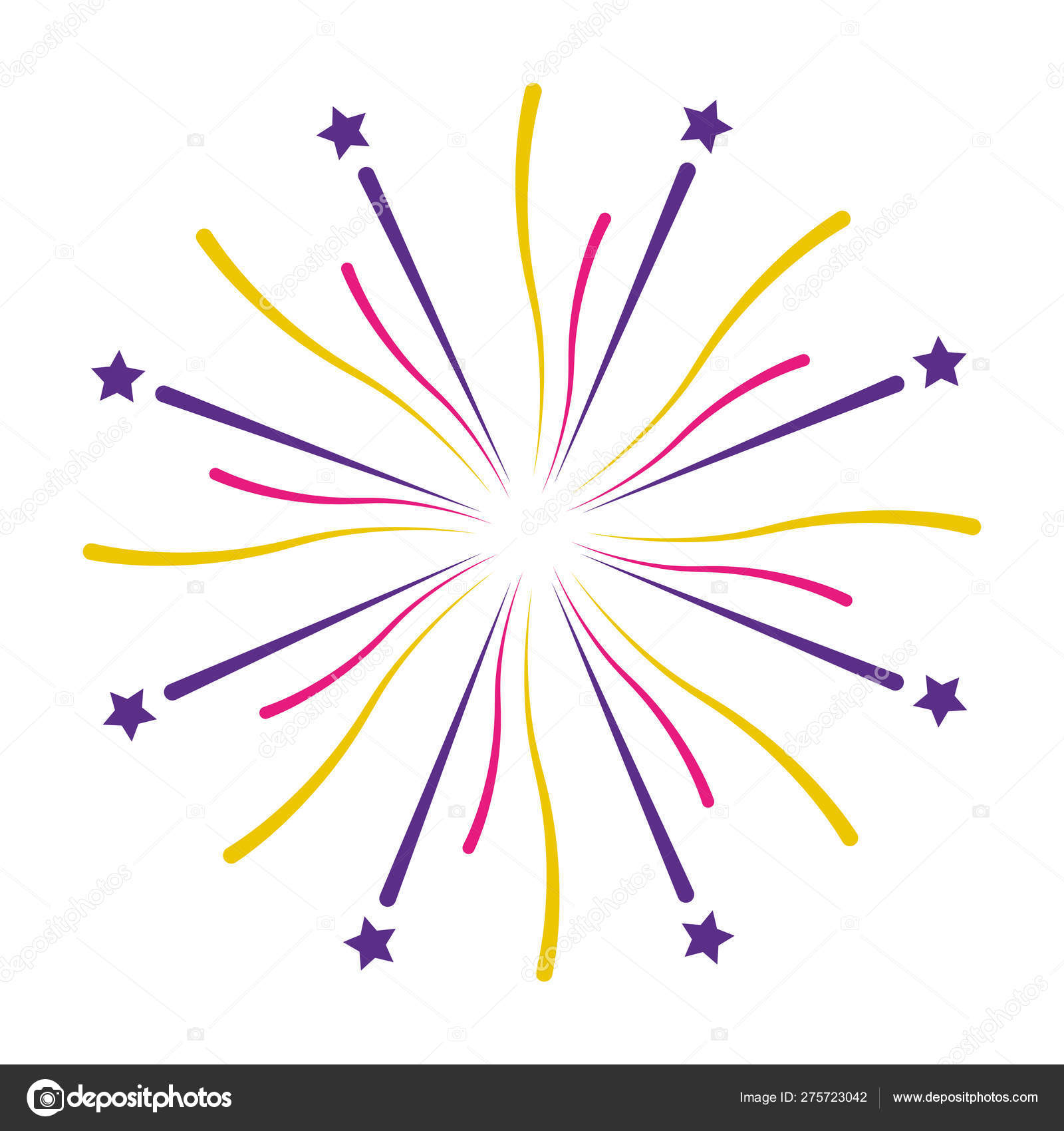Hand painted cartoon fireworks png image_picture free download  401067750_lovepik.com