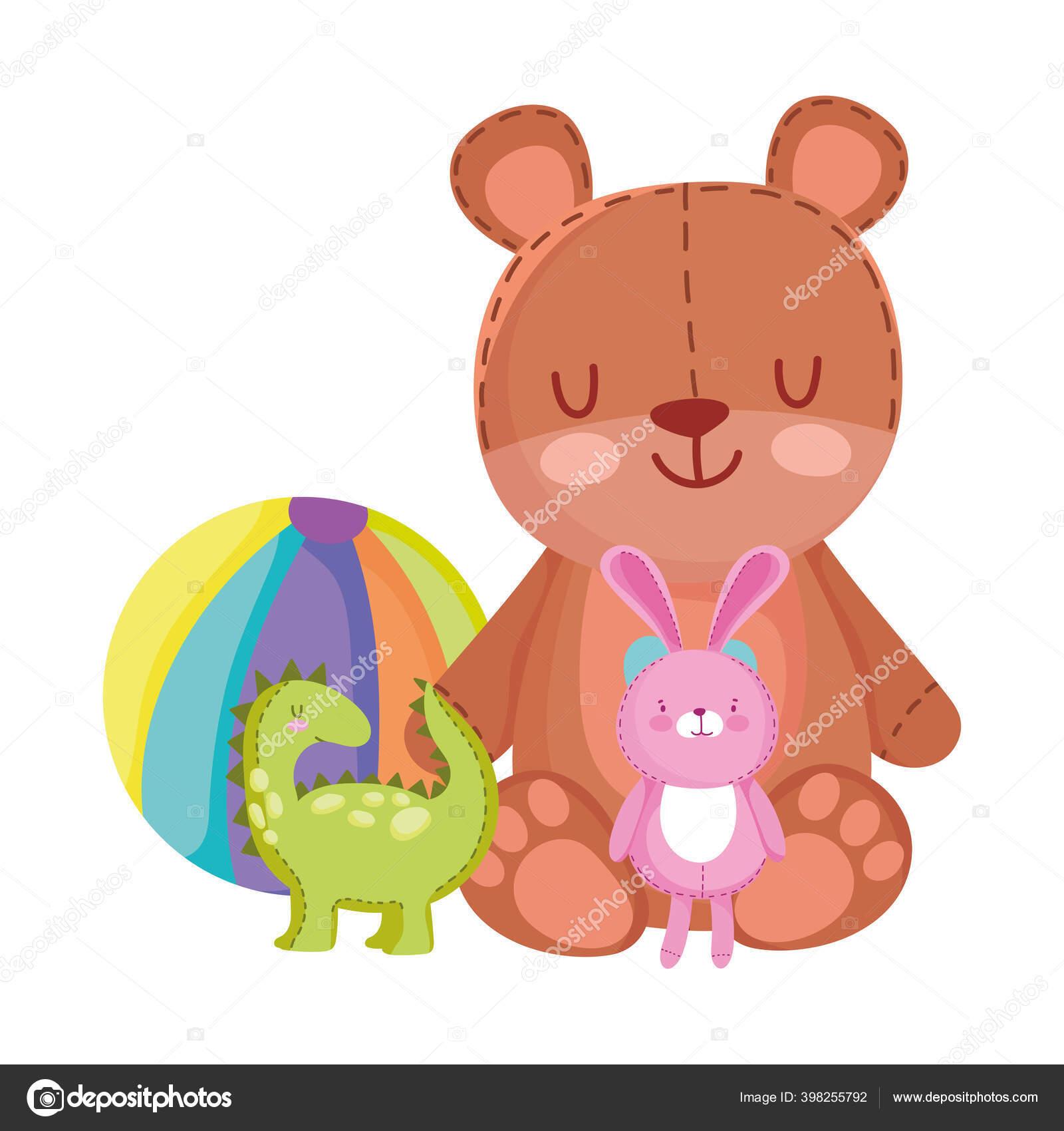 Animasi Boneka Beruang Batik Kain