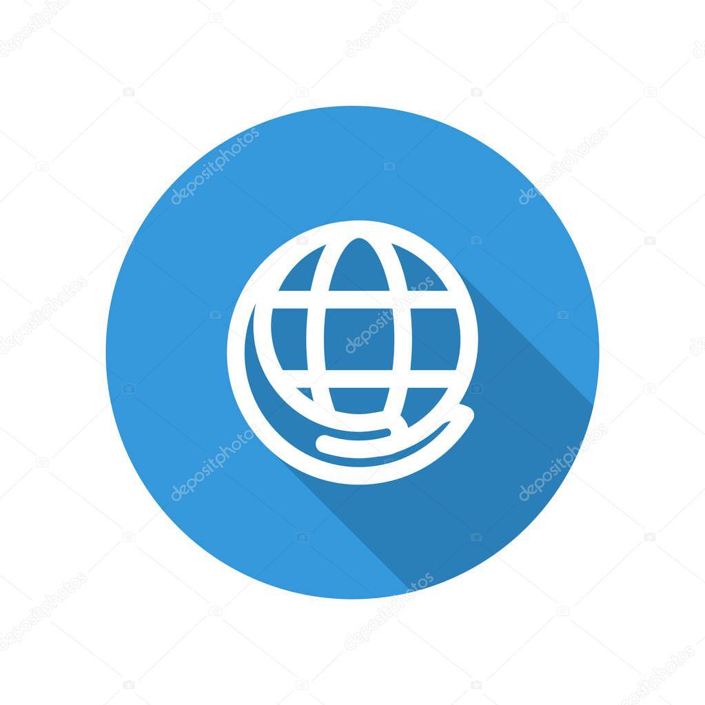Vector Illustration Icon For Internet Service Providers Premium Vector In Adobe Illustrator Ai Ai Format Encapsulated Postscript Eps Eps Format