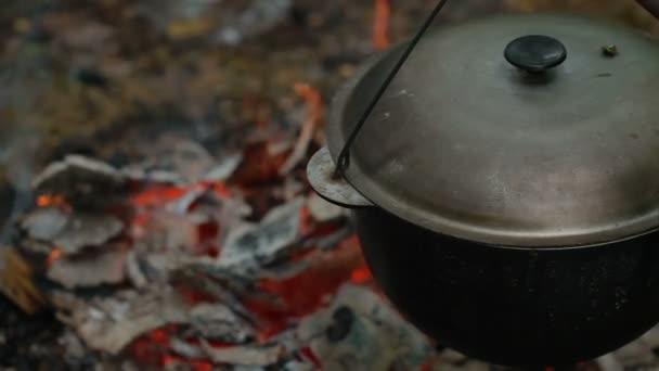 turisztikai pot a tűz